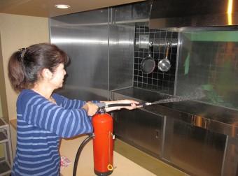 阿倍野防災センターで体験研修を受けました